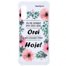 Capa para Samsung Galaxy A2 Core Case2you - Eu Lembro Antishock