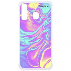Capa para Samsung Galaxy A20s Case2you - Antishock Abstrato Tie Die