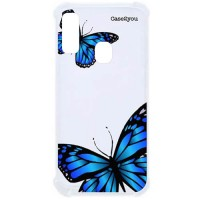 Capa para Samsung Galaxy A20 e A30 Case2you - Antishock Butterfly