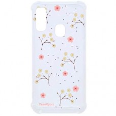 Capa para Samsung Galaxy A20 e A30 Case2you - Antishock Flor do Campo