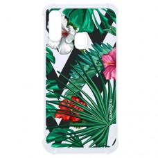 Capa para Samsung Galaxy A20 e A30 Case2you - Flowers Antishock