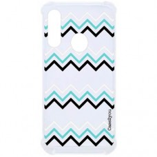 Capa para Motorola Moto G8 Play e Moto One Macro Case2you - Antishock Zig-Zag