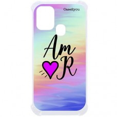 Capa para Samsung Galaxy M21 e M31 Case2you - Antishock Abstrato Amor