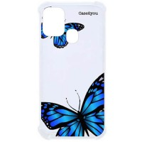 Capa para Samsung Galaxy A21s Case2you - Antishock Butterfly