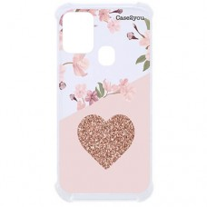 Capa para Samsung Galaxy M21 e M31 Case2you - Antishock Cerejeira Love