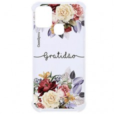 Capa para Samsung Galaxy M21 e M31 Case2you - Antishock Gratidão