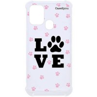 Capa para Samsung Galaxy A21s Case2you - Antishock Love Pet