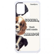 Capa para Samsung Galaxy M21 e M31 Case2you - Antishock Sorria
