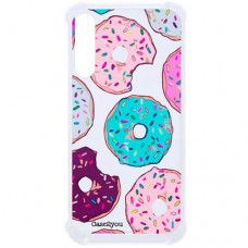 Capa para Samsung Galaxy A70s Case2you - Antishock Rosquinhas