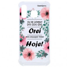 Capa para Samsung Galaxy A40 Case2you - Eu Lembro Antishock