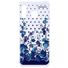 Capa para Samsung Galaxy A40 Case2you - Floral Uvas Antishock