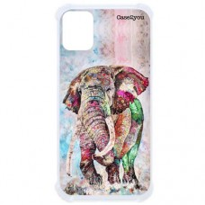 Capa para Samsung Galaxy A71 Case2you - Antishock Elefante Color