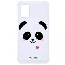 Capa para Samsung Galaxy A71 Case2you - Antishock Face Panda
