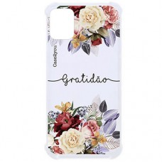 Capa para iPhone 11 Case2you - Antishock Gratidão