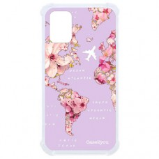 Capa para Samsung Galaxy A71 Case2you - Antishock Mundi Floral