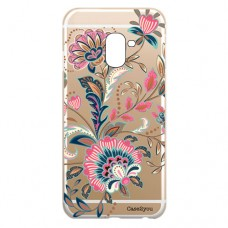 Capa para Samsung Galaxy A6 2018 Case2you - Floral Rosa