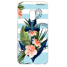 Capa para Samsung Galaxy A6 2018 Case2you - Âncora Floral