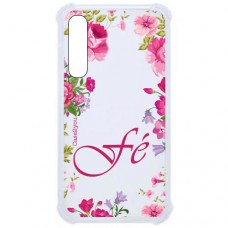 Capa para Samsung Galaxy A7 2018 Case2you - Fé Floral Antishock