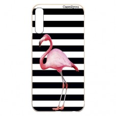 Capa para Samsung Galaxy A7 2018 Case2you - Flamingo Listrado