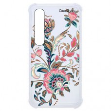 Capa para Samsung Galaxy A7 2018 Case2you - Floral Rosa Antishock
