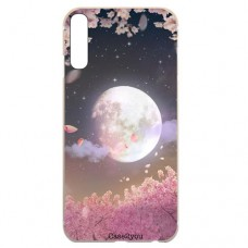 Capa para Samsung Galaxy A7 2018 Case2you - Lua Rosa