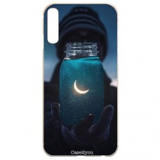 Capa para Samsung Galaxy A7 2018 Case2you - Moon Universe