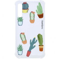 Capa para Samsung Galaxy A7 2018 Case2you - Cactus Antishock