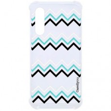 Capa para Samsung Galaxy A70s Case2you - Antishock Zig-Zag
