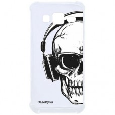 Capa para Grand Duos Prime G530 e J2 Prime Case2you - Antishock Skull Phone