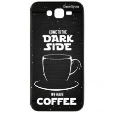 Capa para Grand Duos Prime G530 e J2 Prime Case2you - Escovada Preta Dark Side
