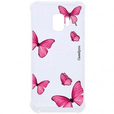 Capa para Samsung Galaxy J2 Core Case2you - Antishock Butterfly Pink