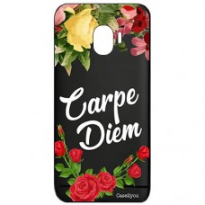 Capa para Samsung Galaxy J2 Pro 2018 Case2you - Carpe Diem Black