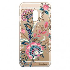 Capa para Samsung Galaxy J2 Pro 2018 Case2you - Floral Rosa