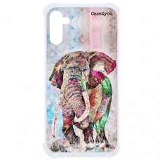 Capa para Samsung Galaxy Note 10 Case2you - Antishock Elefante Color