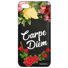 Capa para iPhone 6 Case2you - Escovada Preta Carpe Diem Black