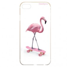 Capa para iPhone 5 e SE Case2you - Flamingo Skatista