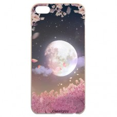 Capa para iPhone 5 e SE Case2you - Lua Rosa