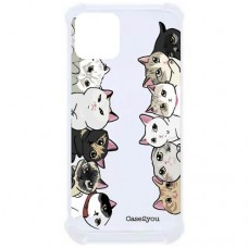 Capa para iPhone 11 Case2you - Antishock Gatinhos
