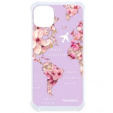 Capa para iPhone 11 Case2you - Antishock Mundi Floral