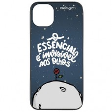Capa para iPhone 11 Case2you - Escovada Preta O Essencial