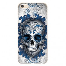 Capa para iPhone 5 e SE Case2you - Caveira Azul