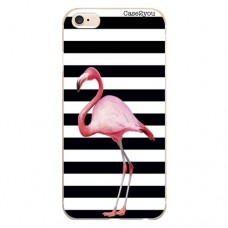 Capa para iPhone 6 Plus Case2you - Flamingo Listrado