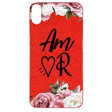 Capa para iPhone X e XS Case2you - Amor Gliter Vermelha