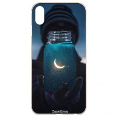 Capa para iPhone X e XS Case2you - Moon Universe