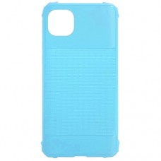 Capa para iPhone 11 Pro Max - Emborrachada Color Force Azul Turquesa