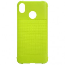 Capa para Motorola Moto E6 - Emborrachada Color Force Verde