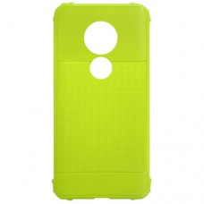 Capa para Motorola Moto G7 Play - Emborrachada Color Force Verde