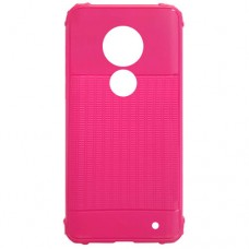 Capa para Motorola Moto G7 e G7 Plus - Emborrachada Color Force Pink