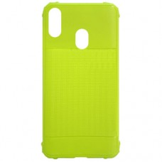 Capa para Samsung Galaxy A20 e A30 - Emborrachada Color Force Verde