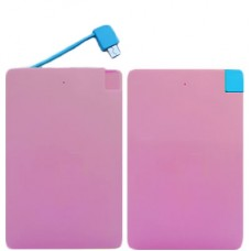 Power Bank 8700 mAh CDB-8700 - Rosa